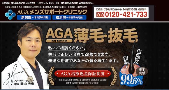 メンズサポートクリニックで実施されているAGA治療の特徴とは?